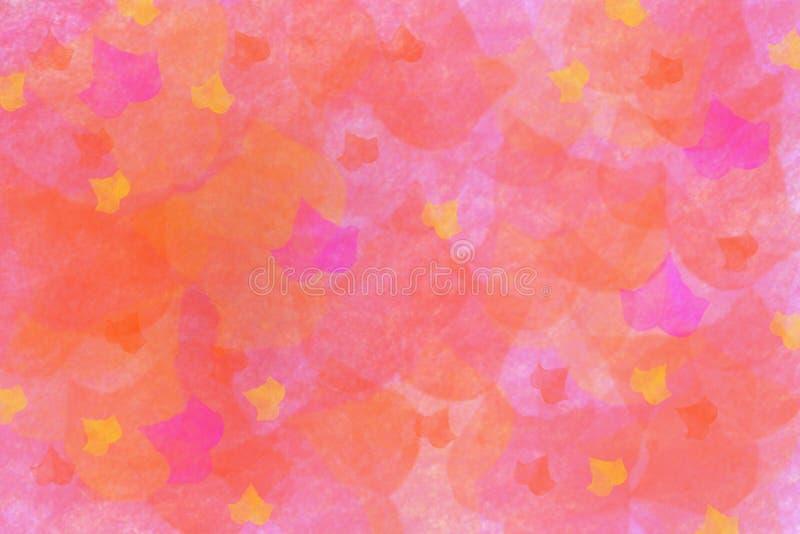 Fond coloré de feuilles sales d'automne illustration de vecteur