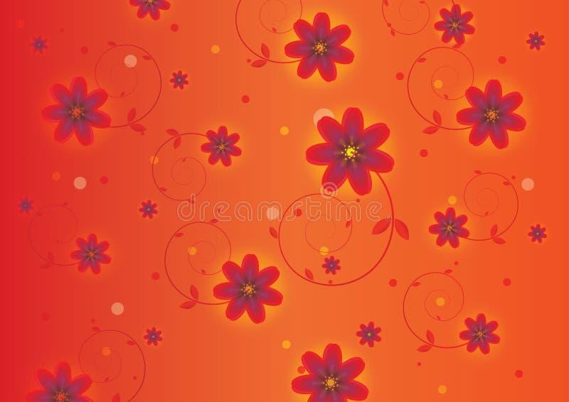 Fond coloré de fleurs image libre de droits