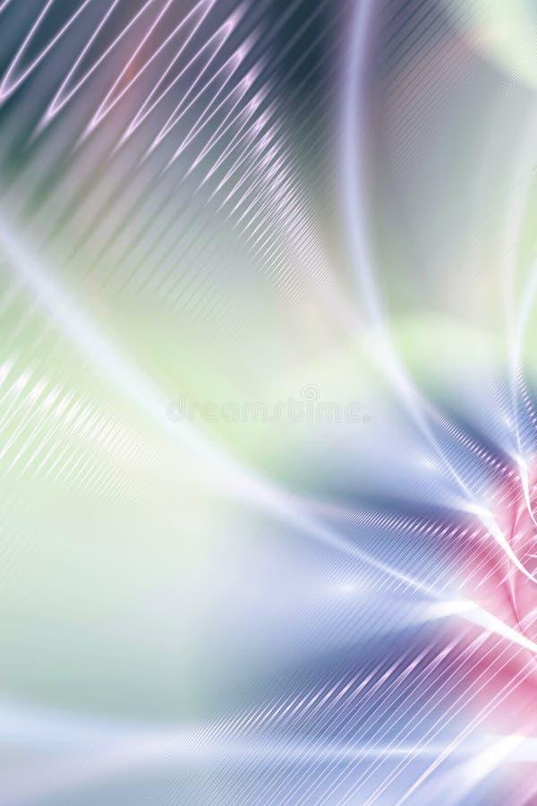 Fond coloré de fractale illustration de vecteur