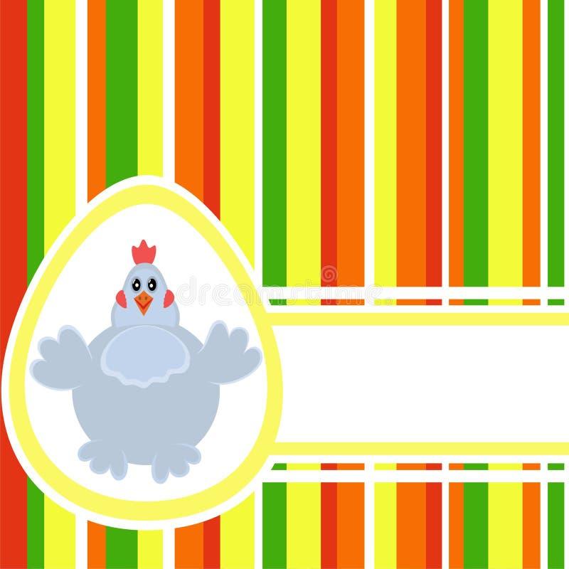 Fond coloré de Pâques illustration de vecteur