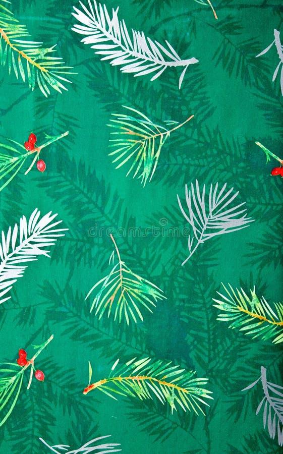 Fond coloré de papier d'emballage de cadeau de Noël photo stock