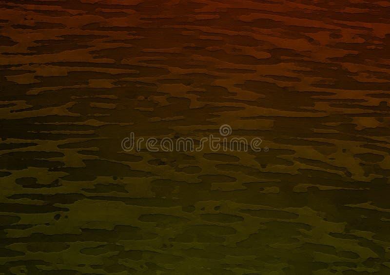 Fond coloré de papier peint de conception de combat illustration stock
