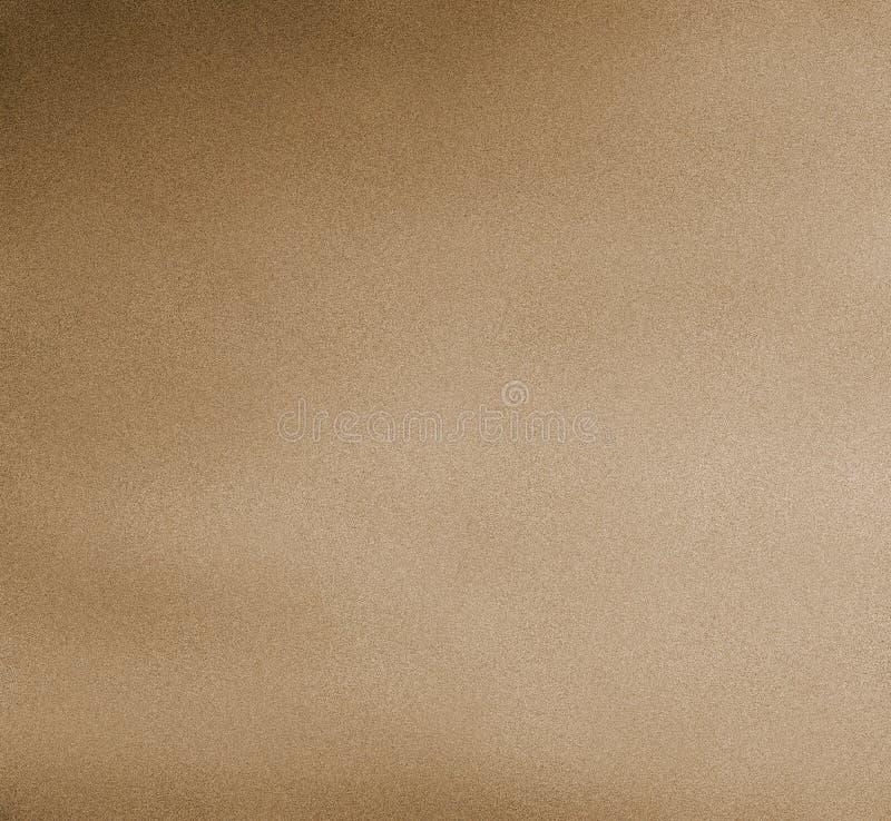 Fond coloré de peinture de Digital dans la couleur brun clair sur Sandy Grain Layer illustration stock