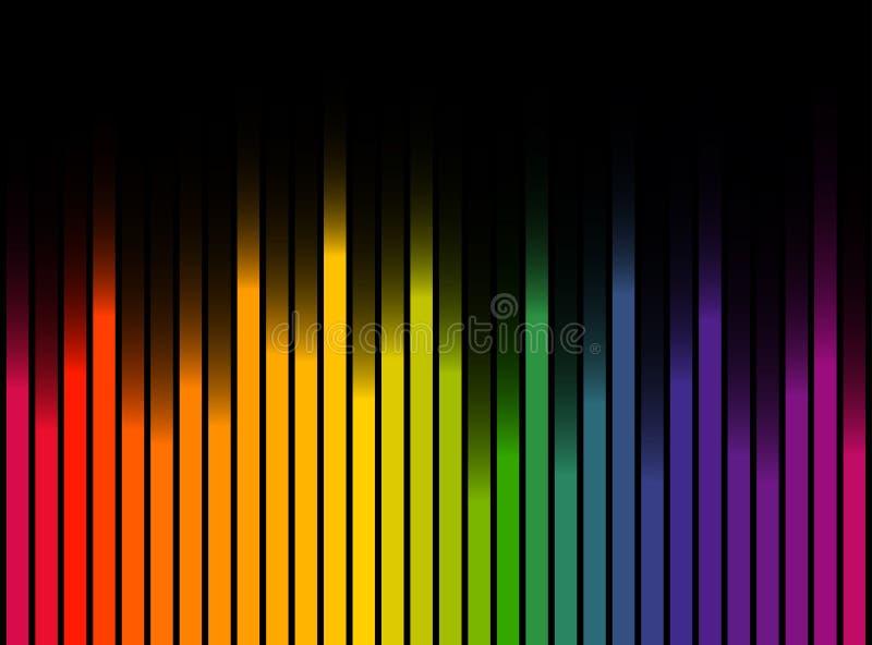 Fond coloré de pistes illustration libre de droits