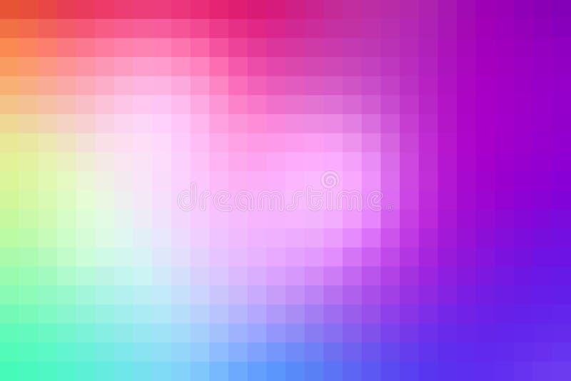 Fond coloré de pixel illustration de vecteur