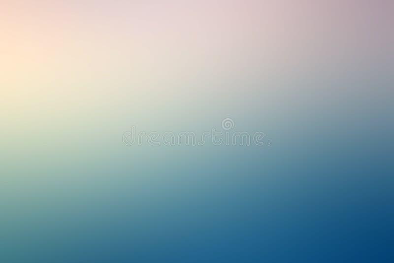Fond coloré de tache floue de gradient illustration stock