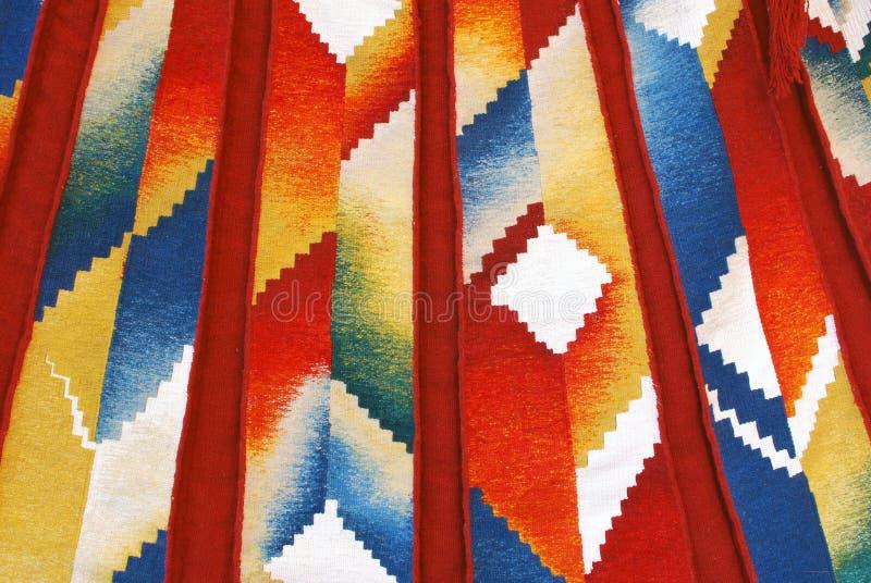 Fond coloré de tapisserie photographie stock