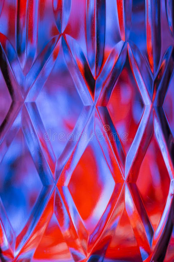 Fond coloré de verre taillé de résumé illustration libre de droits
