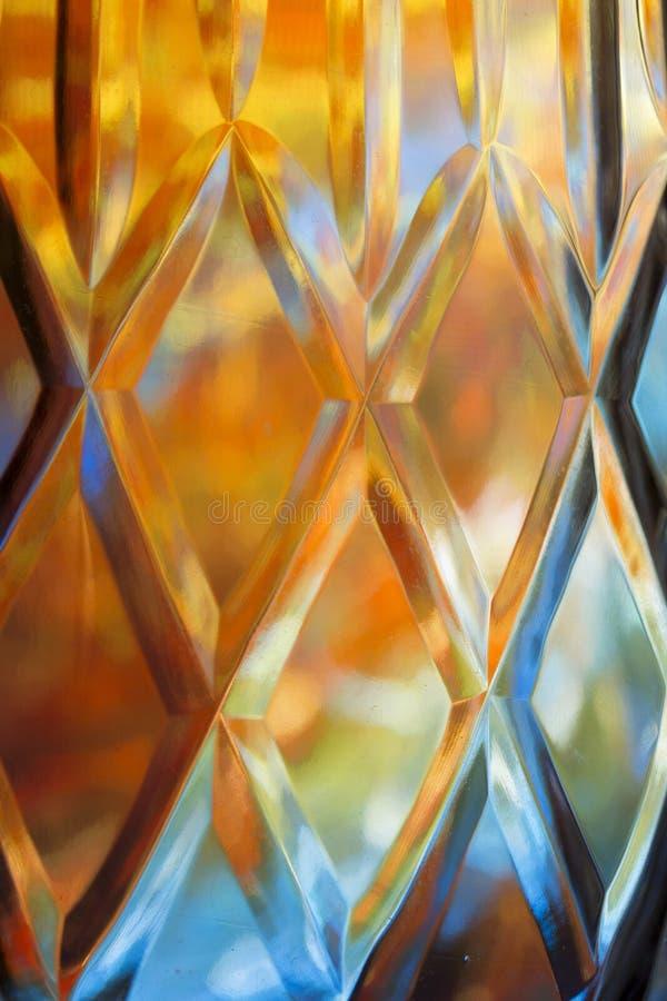 Fond coloré de verre taillé de résumé illustration de vecteur