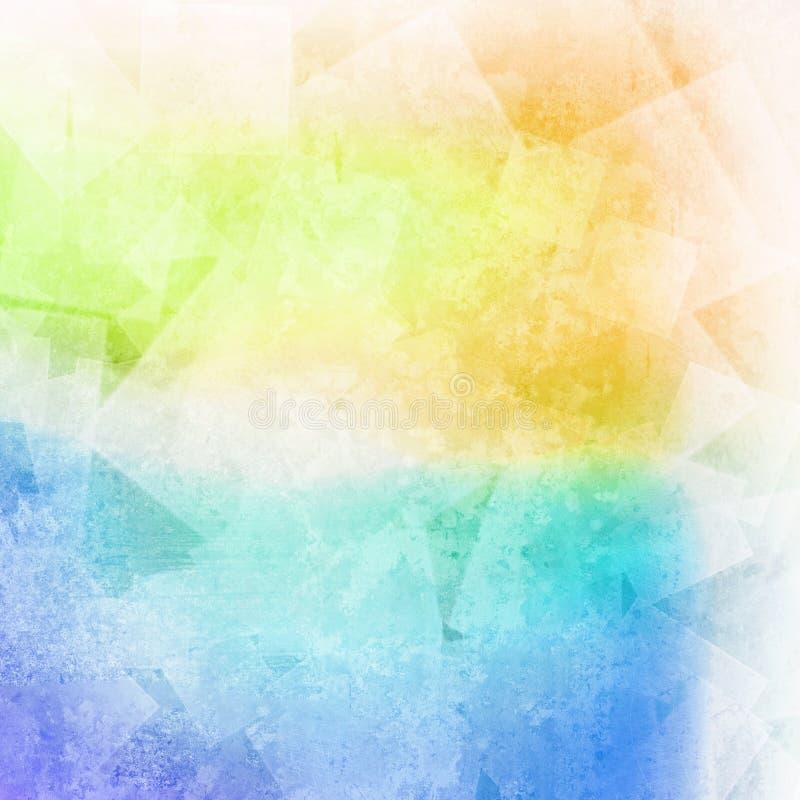 Fond coloré defocused clair image libre de droits