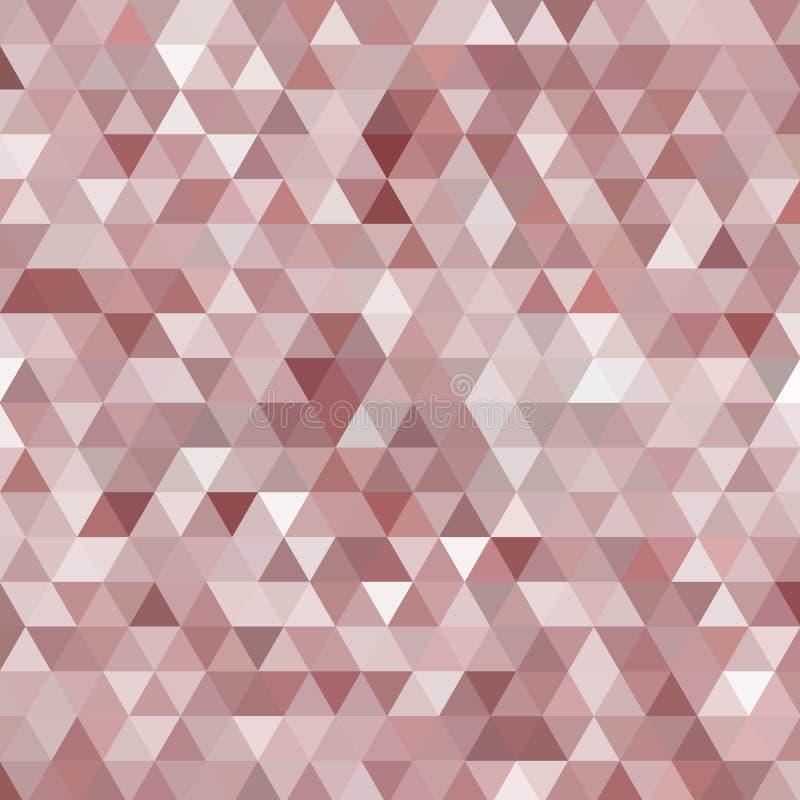 fond coloré des triangles Fond de mosa?que Style polygonal Conception moderne ENV 10 illustration stock
