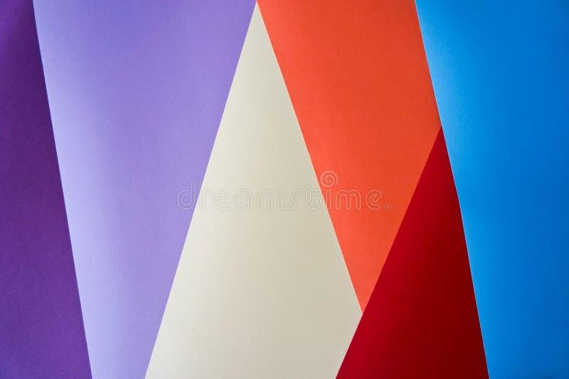 Fond coloré géométrique image libre de droits