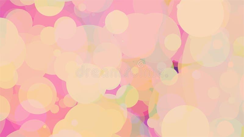 Fond coloré - image abstraite illustration de vecteur