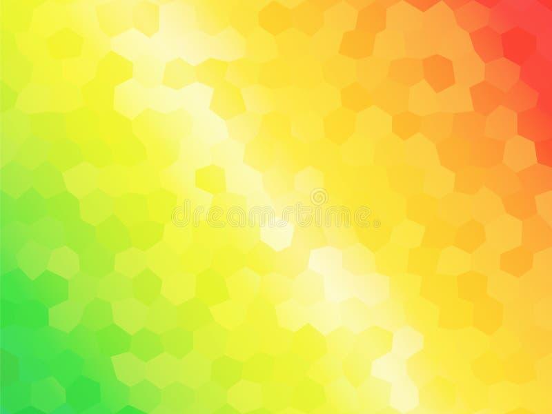Fond coloré lumineux illustration libre de droits