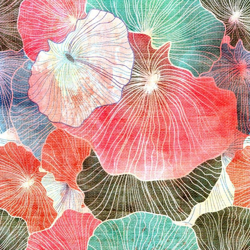 Fond coloré lumineux abstrait illustration de vecteur