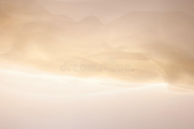 Fond coloré lumineux abstrait de tissu sous forme de vague illustration de vecteur