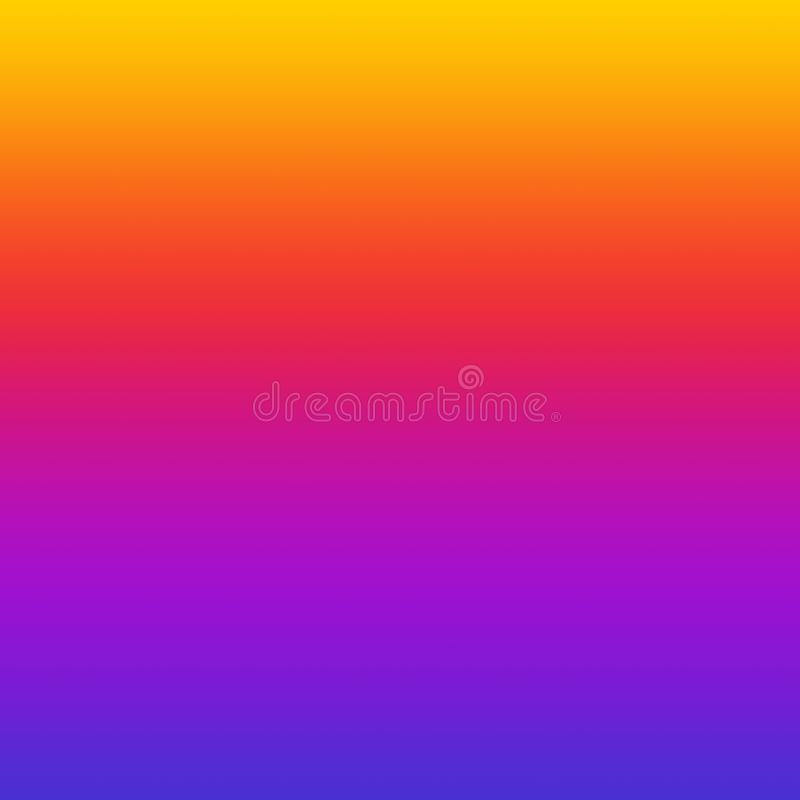 Fond coloré multi lumineux d'Ombre de gradient coloré illustration libre de droits
