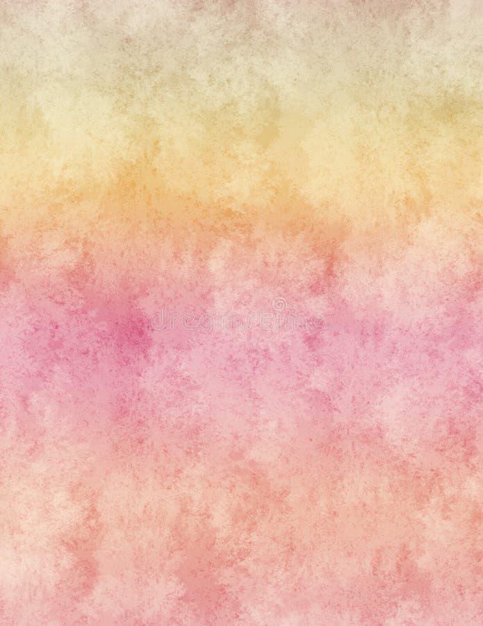 Fond coloré par arc-en-ciel de coucher du soleil illustration libre de droits