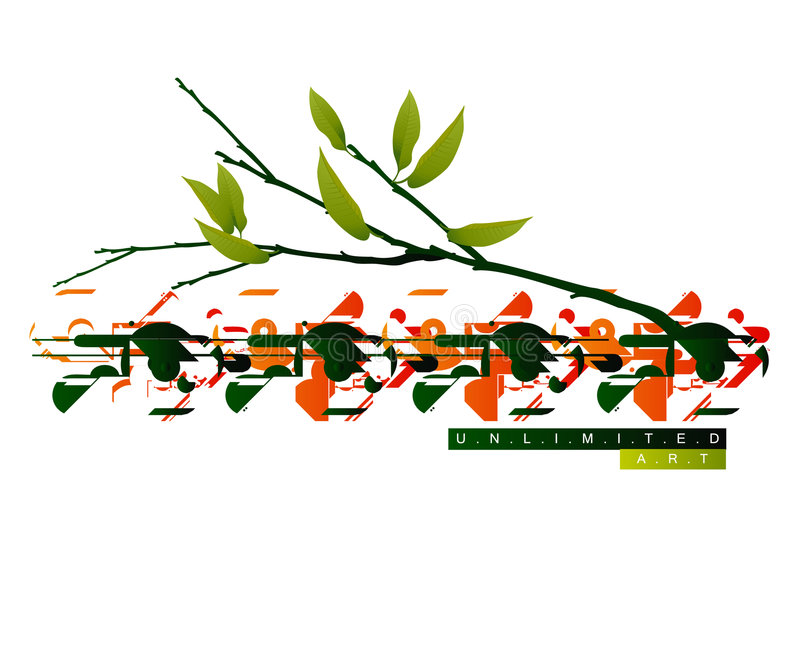 Fond coloré pertinent illustration stock