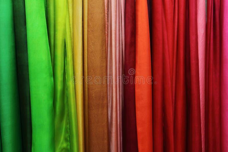 Fond color? de textiles photo stock