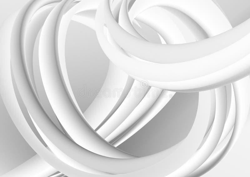 Fond color? moderne pour votre conception Formes liquides monochromes illustration stock