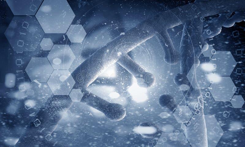 Fond conceptuel de biotechnologie illustration libre de droits