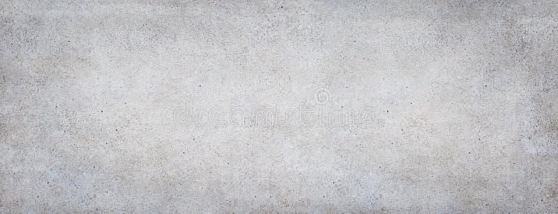 Fond concret Banni?re en pierre de gris image libre de droits