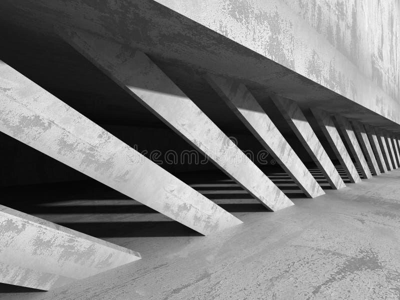 Fond concret moderne d'abrégé sur architecture photo libre de droits