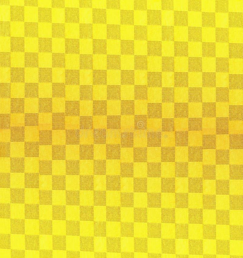 Fond/configuration jaunes images libres de droits