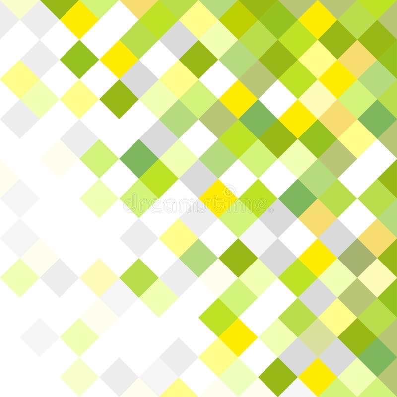 Fond Configuration multicolore illustration stock