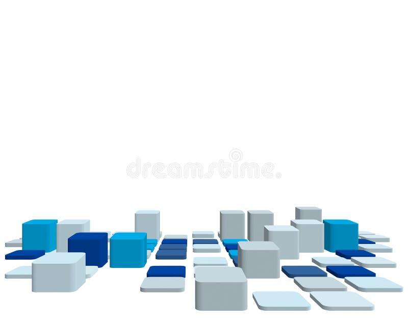 fond contrôlé par 3d illustration de vecteur