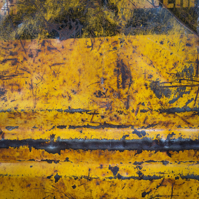 Fond corrodé rouillé de texture en métal photos libres de droits
