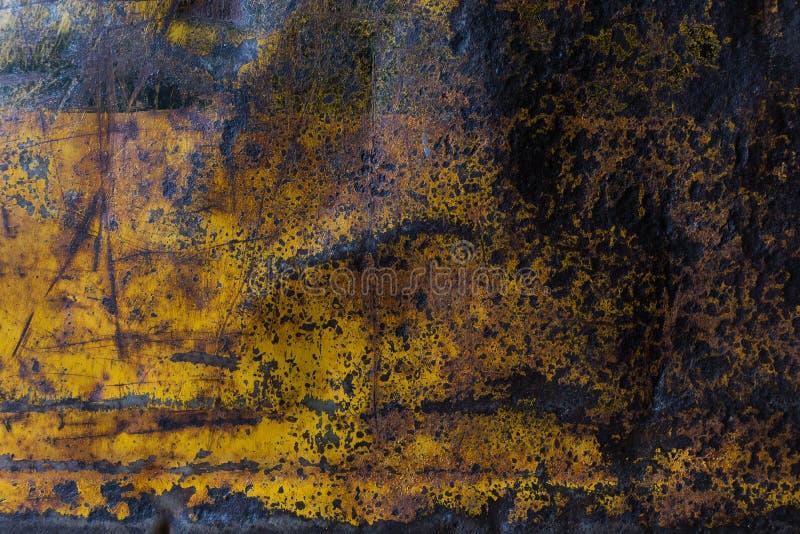 Fond corrodé rouillé de texture en métal photographie stock libre de droits