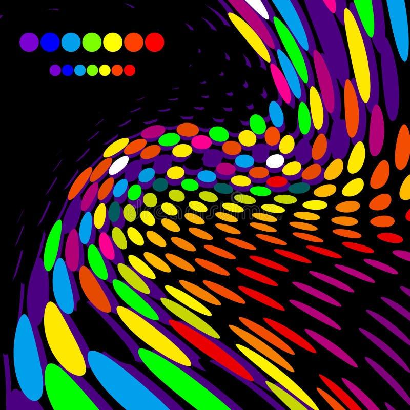 Fond créateur lumineux illustration stock