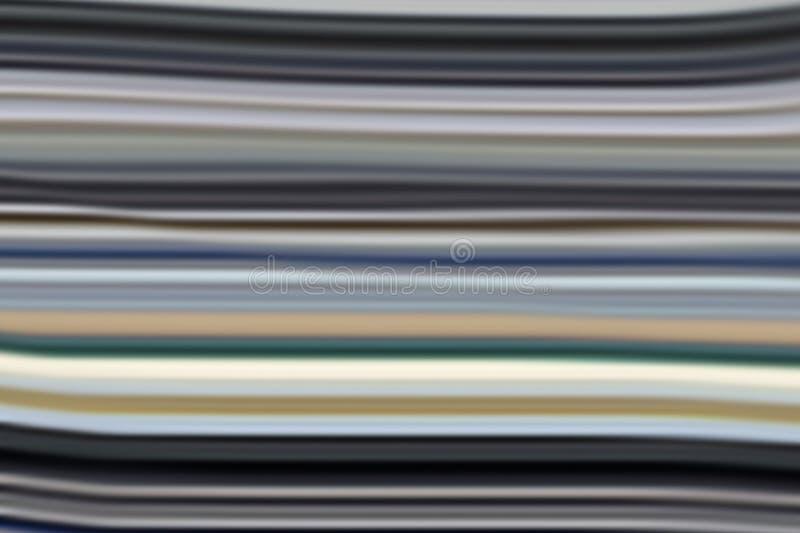 Fond créatif abstrait brouillé coloré illustration de vecteur