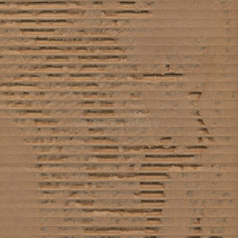 Fond déchiré déchiré de texture de carton image libre de droits