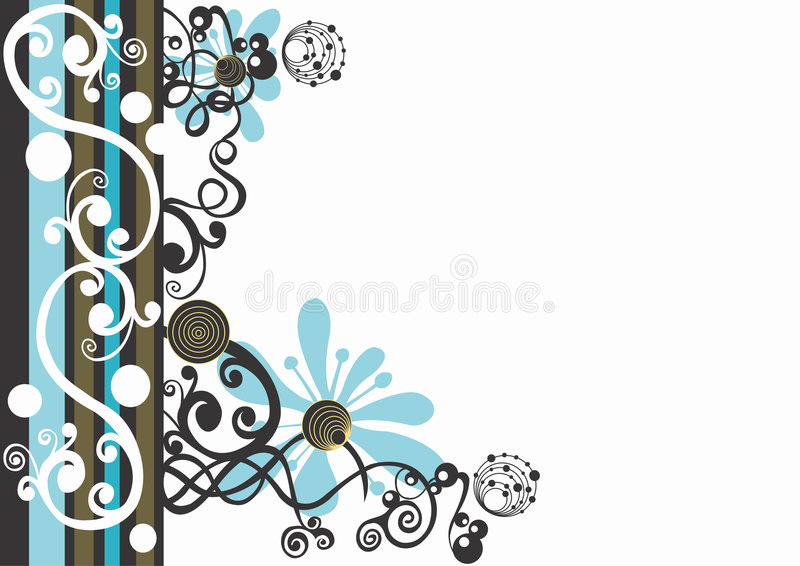 Fond décoratif illustration libre de droits