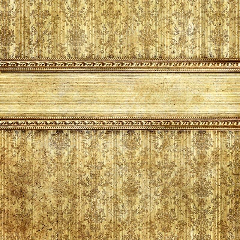 Fond décoratif de cru images stock