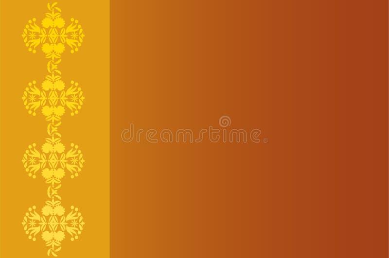 Fond décoratif de rouille illustration stock