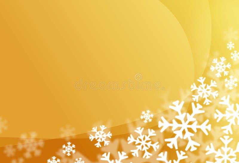 Fond d'éclaille de neige illustration stock
