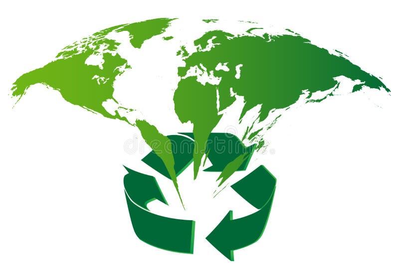 Fond d'écologie illustration libre de droits