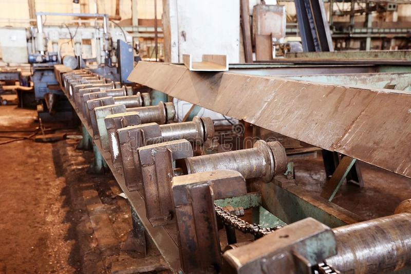 Fond d'équipement industriel  photographie stock