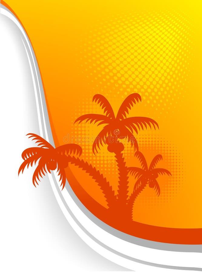 Fond d'été. illustration libre de droits