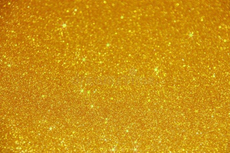Fond d'étincelle de scintillement d'or - photo courante images libres de droits