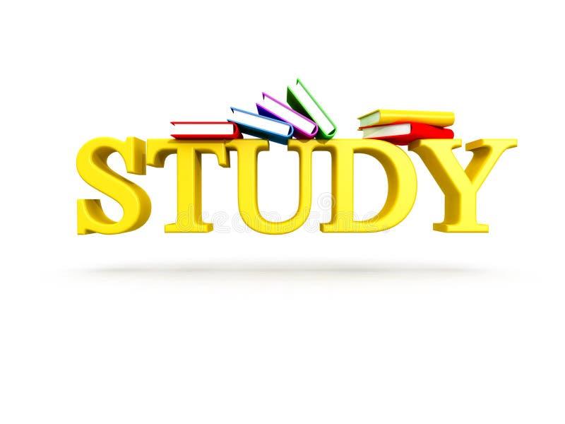 Fond d'étude illustration libre de droits