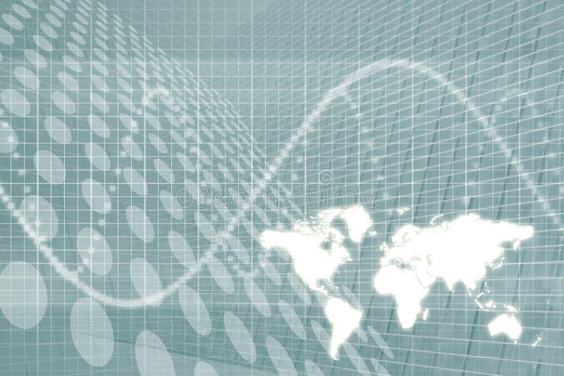 Fond d'abrégé sur affaires globales illustration stock