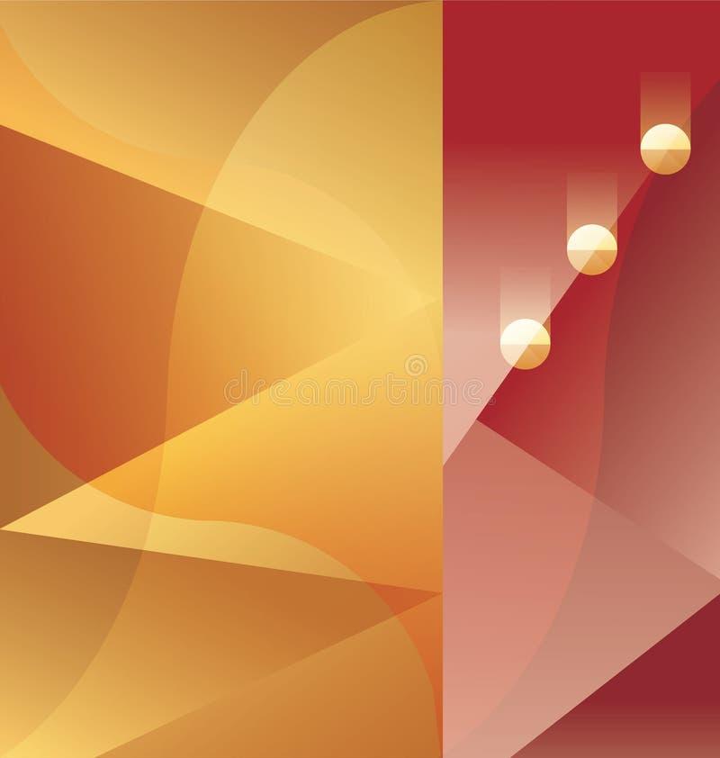 Fond d'abrégé sur Art Deco illustration libre de droits