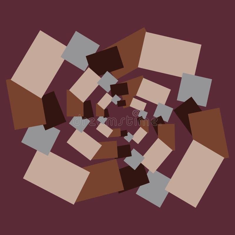 Download Fond D'abrégé Sur Brown Avec Des Morceaux Illustration de Vecteur - Illustration du texture, décoration: 77162924