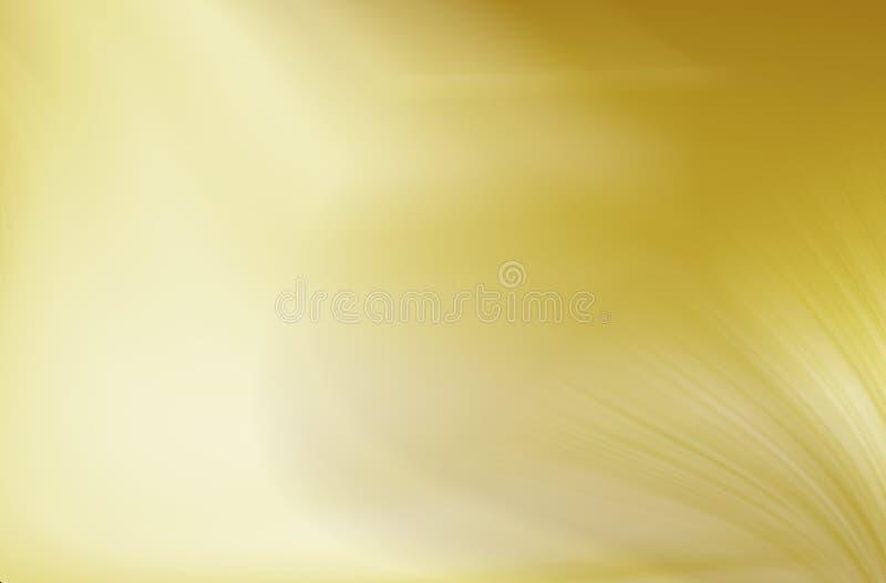 Fond d'abrégé sur gradient d'or photos libres de droits