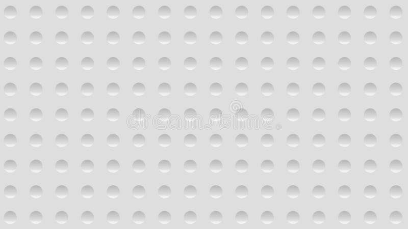 fond d'abrégé sur l'illustration 3d avec un mur avec la fossette illustration libre de droits